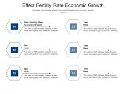 Effect Fertility Rate Economic Growth Ppt Powerpoint Presentation Pictures Layouts Cpb