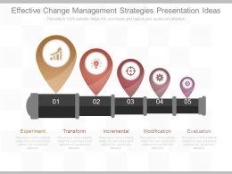 Effective Change Management Strategies Presentation Ideas