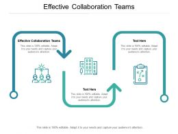 Effective Collaboration Teams Ppt Powerpoint Presentation Summary Good Cpb