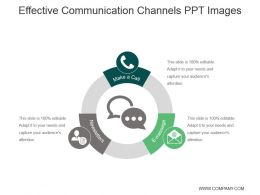 Effective Communication Channels Ppt Images