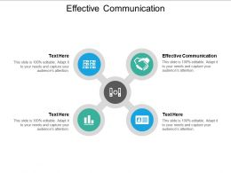 Effective Communication Ppt Powerpoint Presentation Infographic Template Graphics Design Cpb