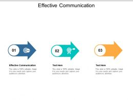 Effective Communication Ppt Powerpoint Presentation Slides Icons Cpb