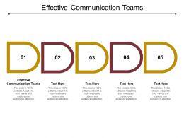 Effective Communication Teams Ppt Powerpoint Presentation Model Slide Portrait Cpb