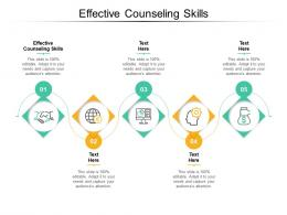Effective Counseling Skills Ppt Powerpoint Presentation Show File Formats Cpb