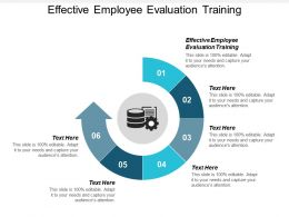 Effective Employee Evaluation Training Ppt Powerpoint Presentation Slides Example Cpb
