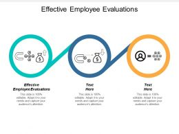 Effective Employee Evaluations Ppt Powerpoint Presentation Design Inspiration Cpb