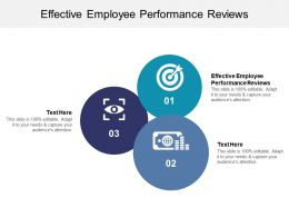 Effective Employee Performance Reviews Ppt Powerpoint Presentation Ideas Slides Cpb