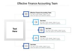 Effective Finance Accounting Team Ppt Powerpoint Presentation Icon Slide Cpb