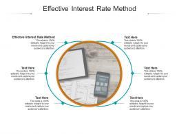 Effective Interest Rate Method Ppt Powerpoint Presentation Portfolio Inspiration Cpb