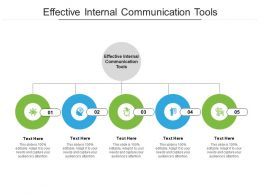 Effective Internal Communication Tools Ppt Powerpoint Presentation Inspiration Professional Cpb
