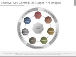 Effective Key Controls Of Budget Ppt Images