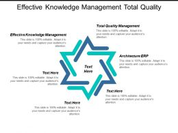 Effective Knowledge Management Total Quality Management Architecture Erp Cpb