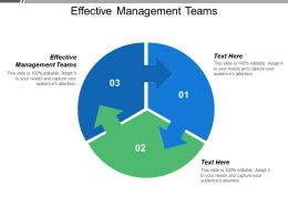 Effective Management Teams Ppt Powerpoint Presentation Model Designs Download Cpb