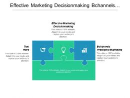 Effective Marketing Decision Making Channels Predictive Marketing Cpb