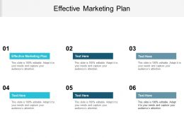Effective Marketing Plan Ppt Powerpoint Presentation File Slide Download Cpb