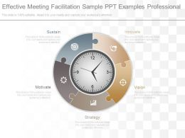 Effective Meeting Facilitation Sample Ppt Examples Professional