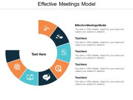 Effective Meetings Model Ppt Powerpoint Presentation Layouts Shapes Cpb
