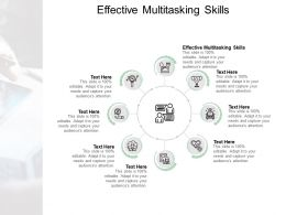 Effective Multitasking Skills Ppt Powerpoint Presentation Introduction Cpb