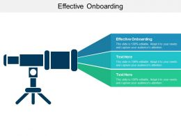 Effective Onboarding Ppt Powerpoint Presentation Slides Clipart Cpb