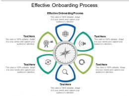 Effective Onboarding Process Ppt Powerpoint Presentation Slides Background Image Cpb