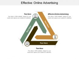 Effective Online Advertising Ppt Powerpoint Presentation File Graphic Tips Cpb