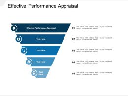 Effective Performance Appraisal Ppt Powerpoint Presentation Ideas Slides Cpb
