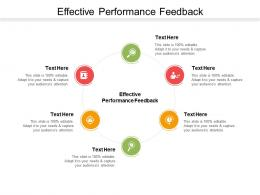 Effective Performance Feedback Ppt Powerpoint Presentation Slides Picture Cpb
