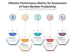 Effective Performance Metrics For Assessment Of Team Member Productivity