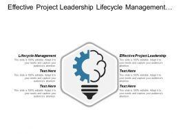 Effective Project Leadership Lifecycle Management Service Operations Management Cpb