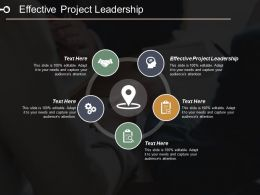 Effective Project Leadership Ppt Powerpoint Presentation Pictures Slideshow Cpb