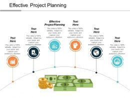 Effective Project Planning Ppt Powerpoint Presentation Layouts Structure Cpb