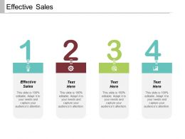 Effective Sales Ppt Powerpoint Presentation File Example Introduction Cpb