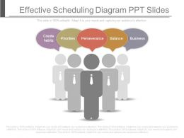 Effective Scheduling Diagram Ppt Slides
