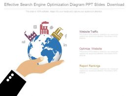 Effective Search Engine Optimization Diagram Ppt Slides Download
