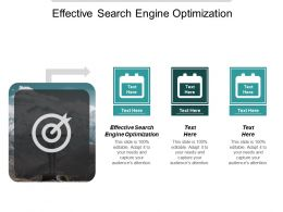 Effective Search Engine Optimization Ppt Powerpoint Presentation Inspiration Example File Cpb