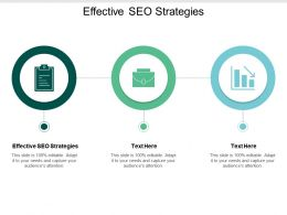 Effective SEO Strategies Ppt Powerpoint Presentation Layouts Outline Cpb