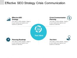 Effective Seo Strategy Crisis Communication Planning Planning Roadmap Cpb