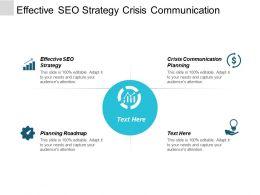 Effective Seo Strategy Crisis Communication Planning Planning Roadmap Cpb