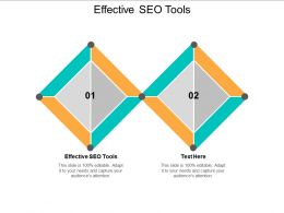 Effective SEO Tools Ppt Powerpoint Presentation Model Styles Cpb