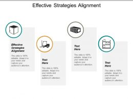 Effective Strategies Alignment Ppt Powerpoint Presentation Infographics Introduction Cpb