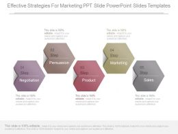 Effective Strategies For Marketing Ppt Slide Powerpoint Slides Templates