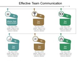 Effective Team Communication Ppt Powerpoint Presentation Model Outline Cpb