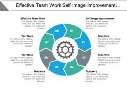 Effective Team Work Self Image Improvement Complaint Customer Management Cpb