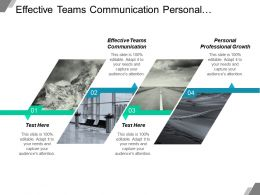 Effective Teams Communication Personal Professional Growth Effective Interpersonal Communication Cpb