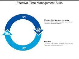 Effective Time Management Skills Ppt Powerpoint Presentation Gallery Background Cpb