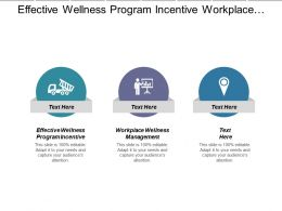 Effective Wellness Program Incentive Workplace Wellness Management Action Plan Cpb