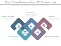 Effective Workplace Performance Diagram Ppt Background Images