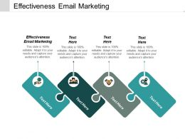 Effectiveness Email Marketing Ppt Powerpoint Presentation Infographics Graphic Images Cpb