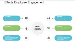 Effects Employee Engagement Ppt Powerpoint Presentation Template Cpb