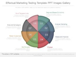 Effectual Marketing Testing Template Ppt Images Gallery